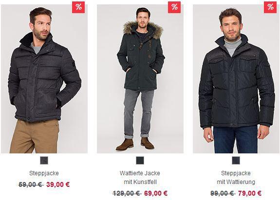 Steppjacke C&A Sale mit bis zu 70% Rabatt + 10% Gutschein + VSK frei