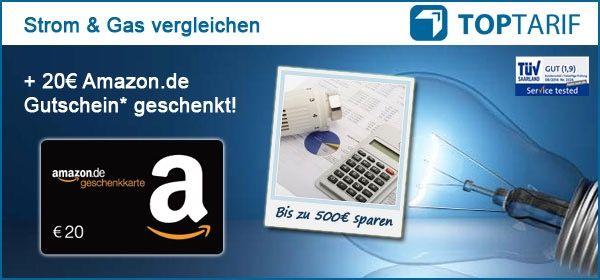 Stromwechsel Bonus Deal: Strom  und Gasanbieterwechsel mit bis zu 40€ Amazon Gutschein* + Kindle GRATIS