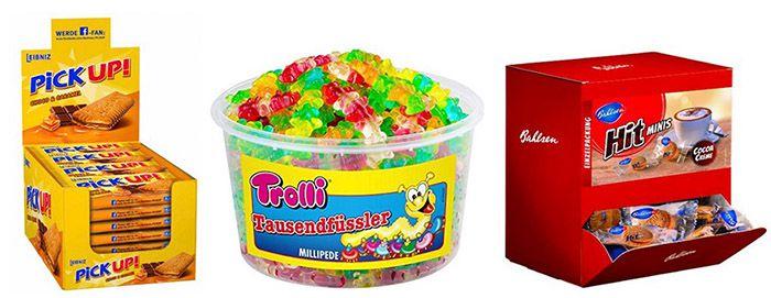 Suessigkeiten Süßigkeiten, Kaffee etc. bis zu 50% reduziert bei Amazon   TOP!