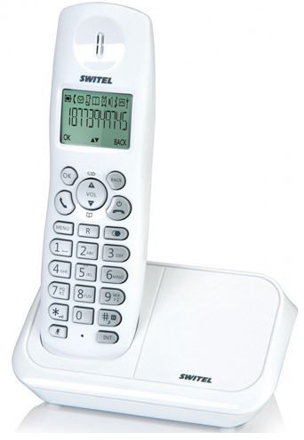Switel Switel Tiger DE 1031   schnurloses DECT Telefon für 14,99€