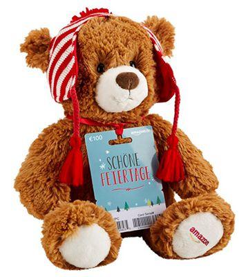 Teddybär Gratis Teddybär beim Kauf eines 150€ Amazon Gutscheins
