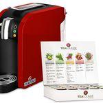 Teekanne Tealounge Kapselautomat + Starter-Set für 49,99€