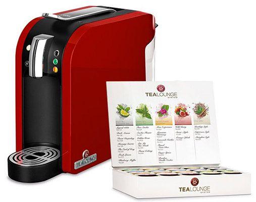 Teekanne Tealounge Teekanne Tealounge Kapselautomat + Starter Set für 49,99€