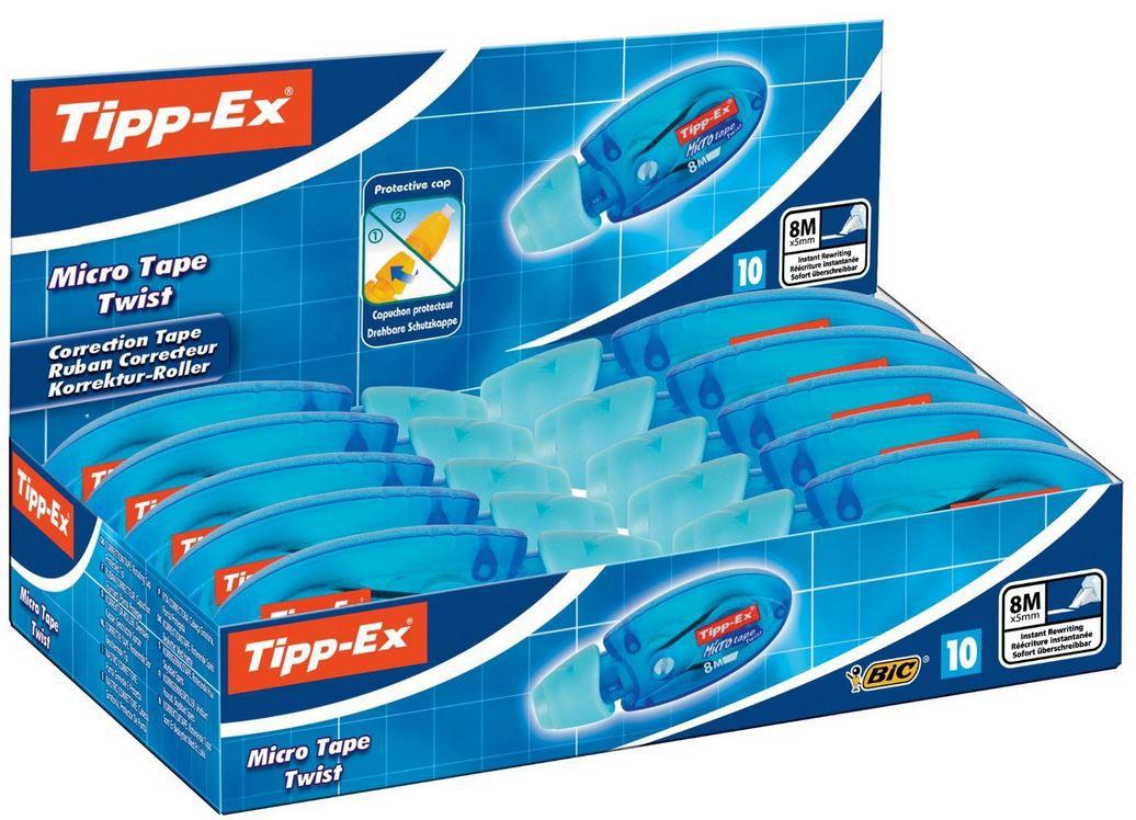 Preisfehler? Tipp Ex Korrekturroller Microtape 10 Stück im Karton ab 6,98€