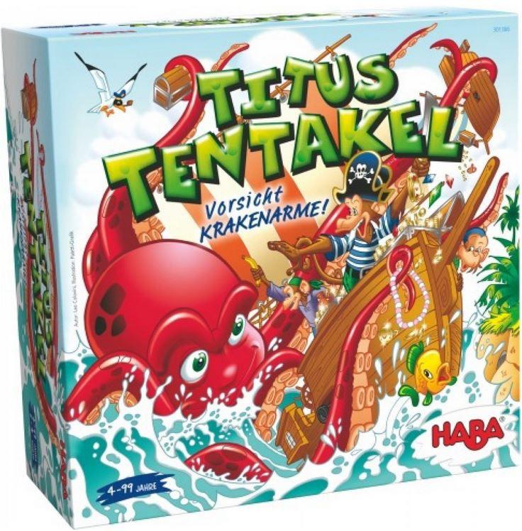 HABA 301366   Titus Tentakel 3D Brettspiel ab 15€ (statt 22€)