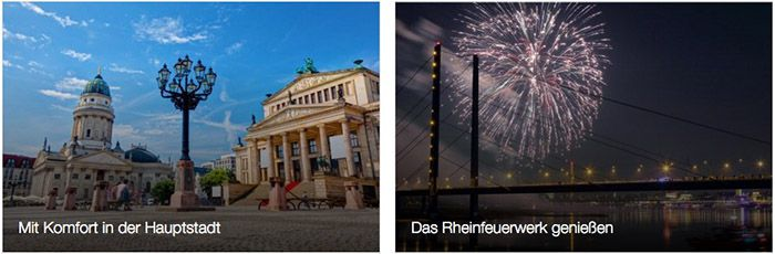 Silvester Angebote bei Travelbird   z.B. 3 Tage Berlin im 4* Hotel ab 75€ p.P.
