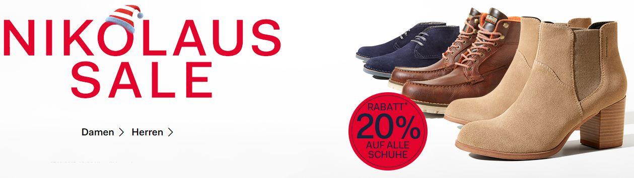 Fashion ID Nikolaus Sale  20% Rabatt auf alle Schuhe + VSKfrei   Gute Schnapper möglich