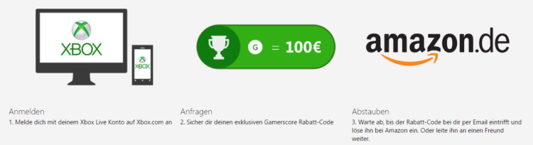 Gamescore Super Deal   bis 100€ Rabatt auf eine Xbox One S oder gratis Forza Motorsport 6!