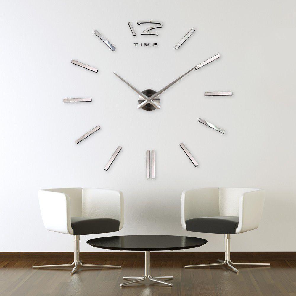 Walplus Wanduhren   Versch. Designs & Größen bis 130cm für 16,99€ inkl. VSK
