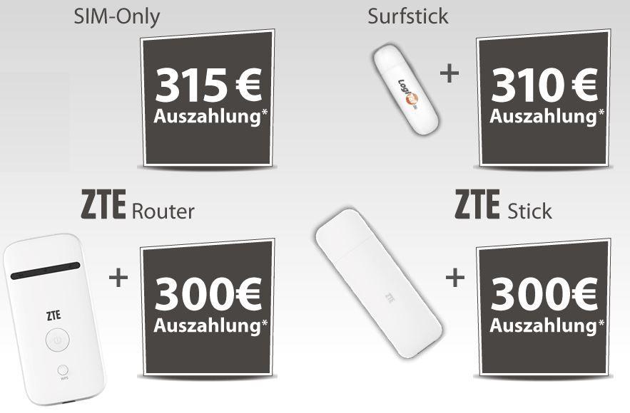 Vodafone Angebot Vodafone Data GO   3 GB LTE Internet Flatrate bis zu 225,0 MBit/s ab 4,37€ mtl.