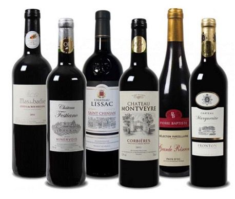 6 Weinflaschen zum Preis von 3 bei Weinvorteil