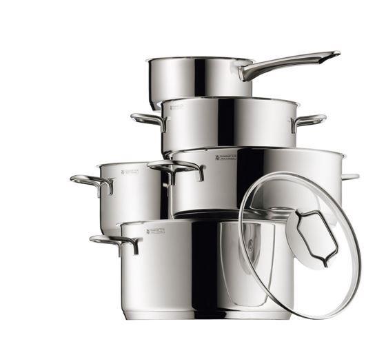 WMF Astoria – Kochgeschirr Set 5-teilig für 84,99€ (statt 106€)