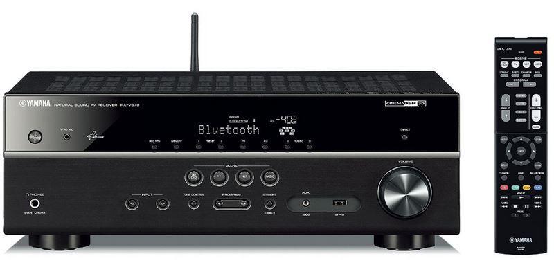 Yamaha RX V579   7.2 AV Receiver (WLan, BT, Airlplay, Multi Room Systeme) für 356,93€ (statt 433)