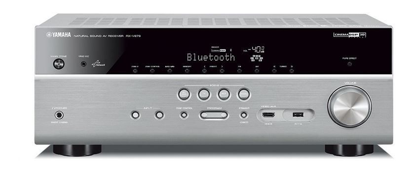 Yamaha RX V679   AV 7.2 Netwerk Receiver mit HDMI2, Wlan BT (statt 548€) für 410,51€