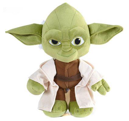 Yoda Plüschfigur Yoda Plüschfigur 25cm für 18,95€ (statt 27€)