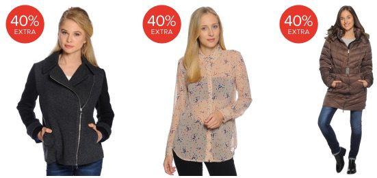 40% Rabatt auf reduzierte Artikel + 15% Gutschein bei dress for less