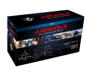 Schnell: Airwolf   komplette Serie auf Blu ray ab 39,99€ (statt 72€)
