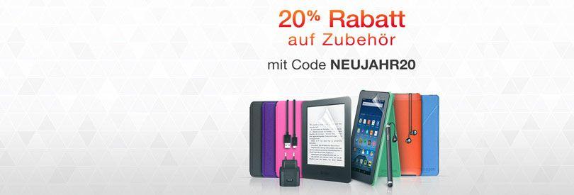20% Rabatt auf Zubehör für Fire HD Tablets und Kindle Reader