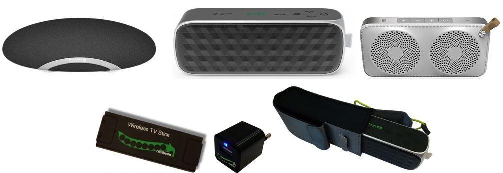 bestbeans Fashion White wireless OUTDOOR Lautsprecher für 39,90€ und mehr dank bestbeans Aktion