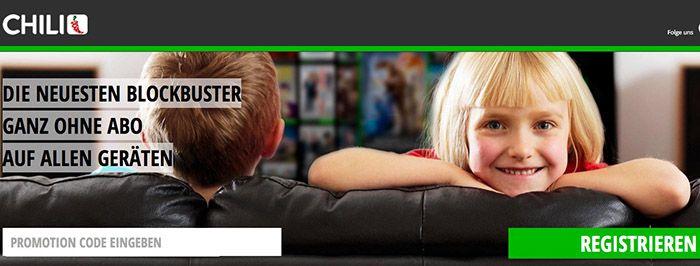 Bis 100€ Guthaben für Filme auf chili.tv gratis!   Kostenlos Filme & Serien streamen!