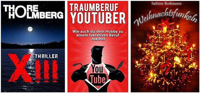 Kostenlose eBooks bei Amazon   z.B. Holmberg Thriller XIII