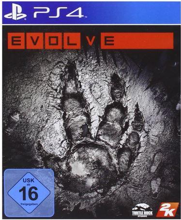 EVOLVE   PS4 Game mit USK 16 für nur 10,79€