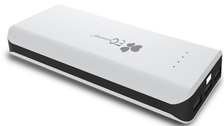 EC Technology   externer Akku mit 22400 mAh und 3USB Ausgängen ab nur 18,99€