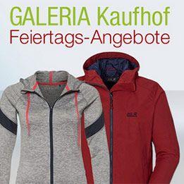 Galeria Kaufhof Feiertags Deals z.B. 20% Herrenmäntel