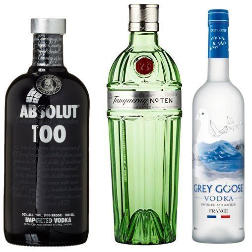 Spirituosen bis zu 40% reduziert heute bei Amazon: Grey Goose Wodka Original ab 28,99€