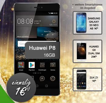 Vodafone All Net Flat + 1GB + Smartphone für nur 19,99€ mtl.