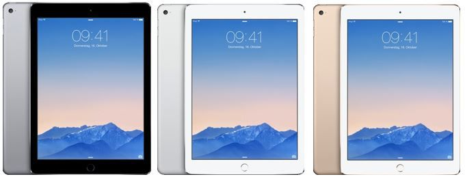 Apple iPad Air 2   64GB WiFi für 449,10€