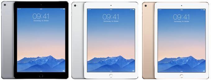 iPad Air 2 Apple iPad Air 2   64GB WiFi für 449,10€