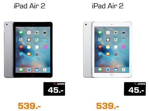 iPadair Apple Macs, Macbooks & iPads mit bis zu 90€ Gutschein Cashback bei Saturn