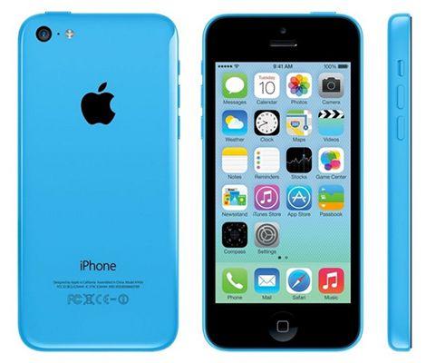 iPhone 5C Blau