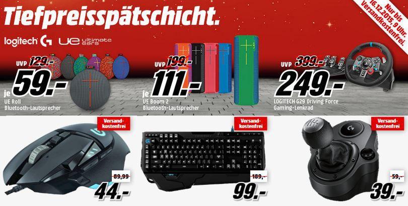 UE Boom 2 für 111€ in der Media Markt Logitel Tiefpreisspätschicht