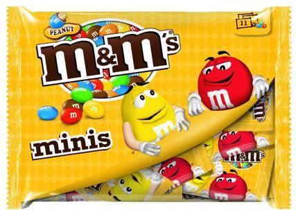 M&Ms Peanut Minis 7 Portionspackungen je 11x20g für 9,99€