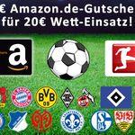 Bonus-Deal: 30€ Amazon.de Gutschein* geschenkt für 20€ mybet Wetteinsatz