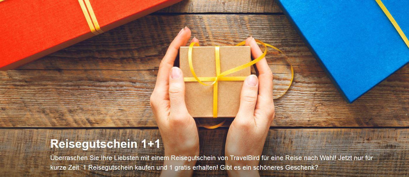 ravelbird Reisegutschein Travelbird mit Reisegutscheinen + versteckten Bonus   ideal als Geschenk