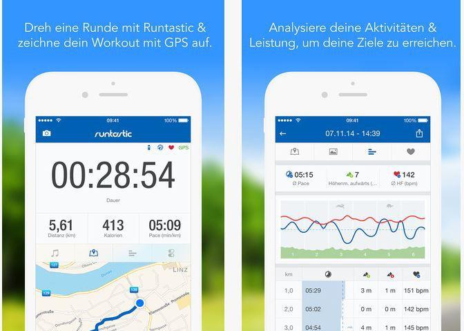 Runtastic Pro für Android für 0,10€ bzw. iOS kostenlos (statt 4,99€)