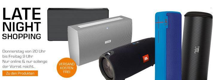 JBL Flip 2 statt 69€ ab 44€ im Saturn Late Night Bluetooth Speaker Shopping