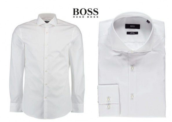 Boss Business Hemd Slim Fit ab 47,40€ (idealo 69€)