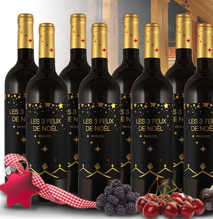 Joseph Castan Les 3 Feux de Noël 2014 Probierpaket mit 10 Flaschen für nur 39,99€