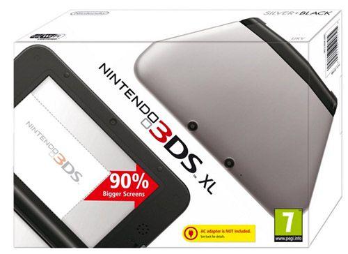 Nintendo 3DS XL Konsole in schwarz für 122,26€ (statt 156€)