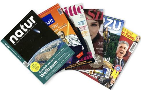 Sport Bild, natur, Für Sie und andere Zeitschriften Abonnements für 4,95€