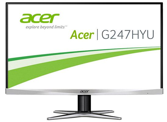 Acer G247HYU Acer G247HYU   24 Zoll WQHD Monitor für 239€ (statt 279€)
