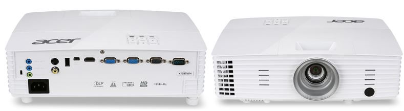 Acer X1385WH TCO   WXGA  DLP Projektor für nur 355€