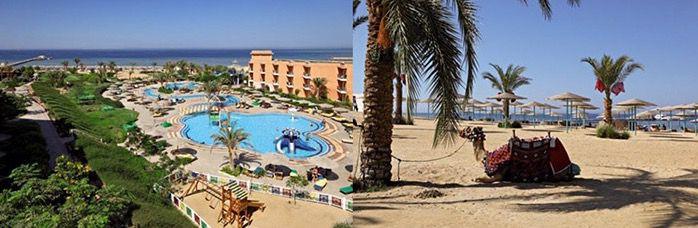 Aegypten 1 Woche Ägypten im 4* Hotel mit All Inc. und Flügen ab 209€ p.P.