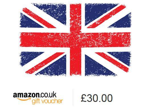 Amazon UK: 30£ Gutschein kaufen und 7£ gratis bekommen (nicht für alle)