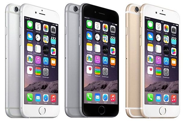 Apple iPhone 6 BASE All in (Allnet / 2GB) + iPhone 6s für 45€ mtl.