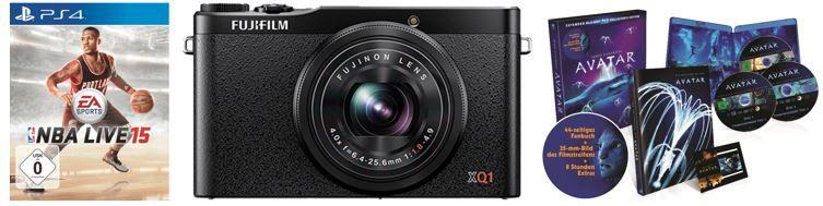 FUJIFILM XQ 1 Kompaktkamera statt 334€ für 277€ bei den SATURN Online Offers